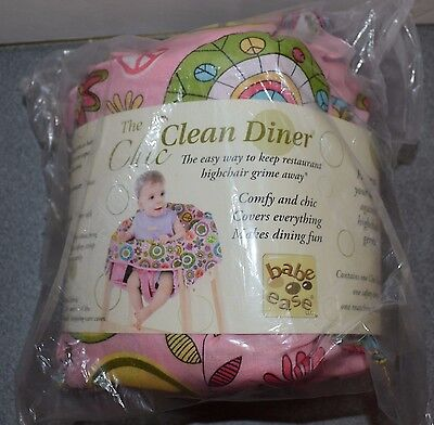 Brand new girl's infant babe ease high chair cover pink