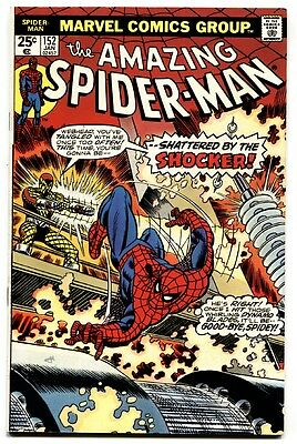 AMAZING SPIDER-MAN #152-comic book-SHOCKER-DR OCTOPUS Marvel