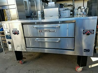Bakers Pride Pizza Oven Gas DS805 Deck Oven Bakery Pizza Restaurant