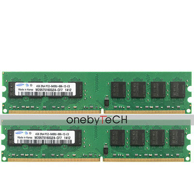 Samsung 8GB 2x4GB PC2-6400 DDR2-800Mhz 240pin DIMM Memory For AMD CPU Chipset