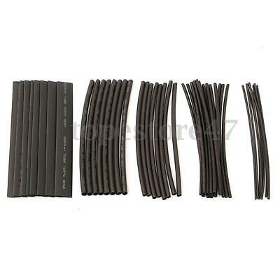 48Pcs Car Electrical Cable Heat Shrink Tube Tubing Wrap Sleeve Assorted 6 Sizes