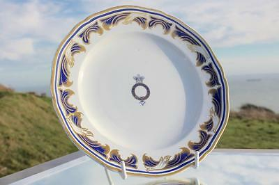 Queen Victoria Royal Yacht Victoria & Albert Rare Side Plate State Service 1885