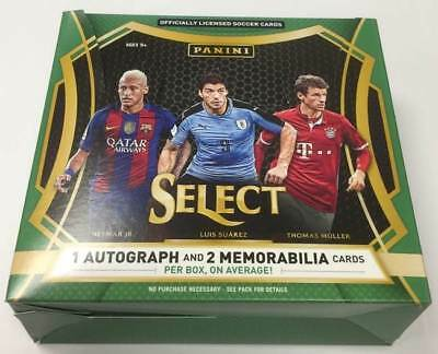 2016/17 Panini Select Soccer (Fussball) Hobby Box