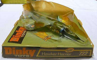 Dinky Toys Diecast Hawker Harrier GR MK1 model No.722