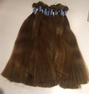 Russian Human Hair-Gorgeous Brown-Double Drawn - Remy - 100% Genuine - Uk Seller