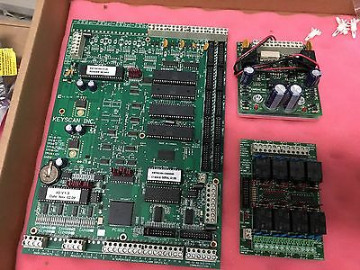 Keyscan CA4200 / CA4300 / CA4400 Access Control Board with DPS15 and OCB8