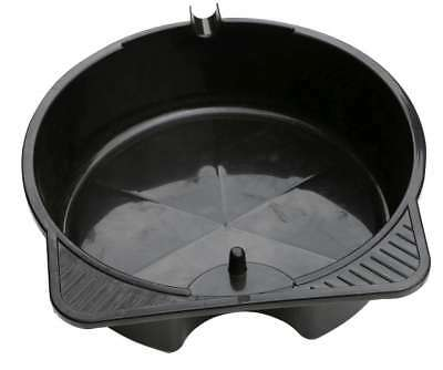 8L Car Bike Oil Fuel Coolant Drain Change Pan Bowl Container with Filter Holder