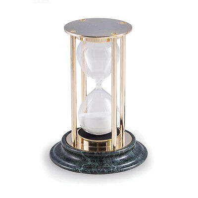 Hour Glass Marble Base clock sand timer watch watches