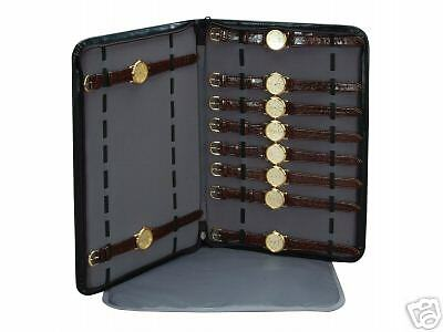 Watch case POUCH display caddy 20 watches insert travel