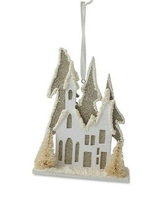 Bethany Lowe - Christmas - Cottage Vignette Ornament - LC3358