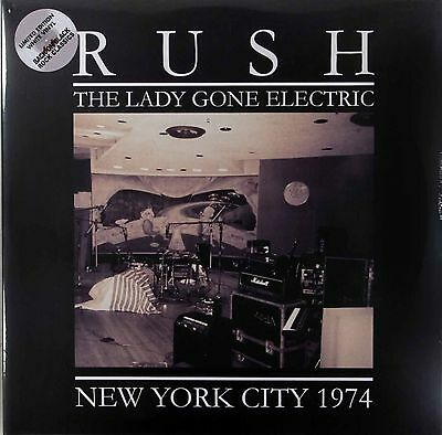 Rush The Lady Gone Electric 1974 Limited 2 x 180g White Vinyl LP New & Sealed