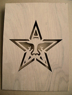 Obey Giant Star Wooden Stencil Shepard Fairey