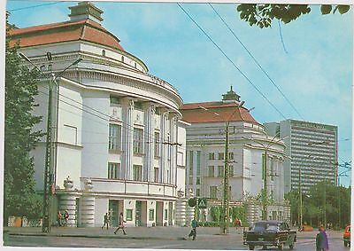 Estonia Tallinn  Theater Large Size 6X4 Col Card Unposted With Car