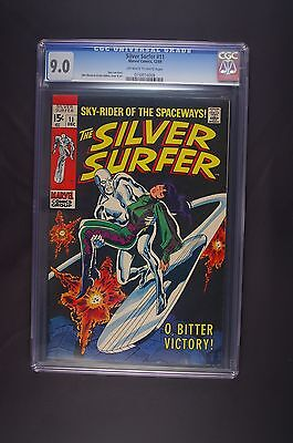 Silver Surfer 11 first series CGC 9.0 12/69
