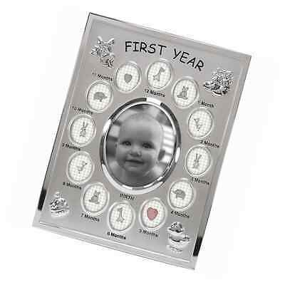 Malden International Designs Baby's First Year Collage Picture Frame, 13 Option,