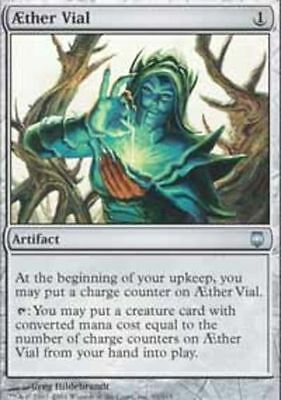 Aether Vial x1 NM MTG Magic the Gathering Darksteel