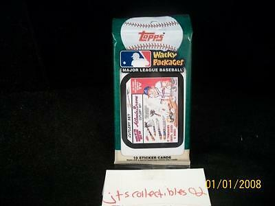 2016 Topps Wacky Packages MLB Guaranteed Green Ludlow Back Hot Pack SP