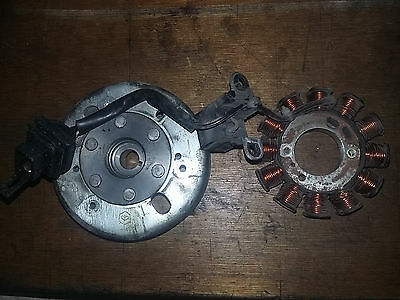 Allumage Stator Rotor 12 Pôles Piaggio Fly Zip Vespa LX Liberty 50 4t AC
