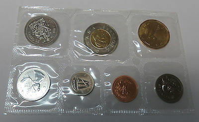 Canada Kanada Kms Mint Coinset 1997 1 5 10 25 50 Cent 1 + 2 Dollar Pl Proof Like