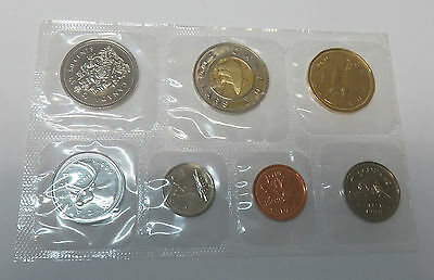 Canada Kanada Kms Mint Coinset 1999 1 5 10 25 50 Cent 1 + 2 Dollar Pl Proof Like