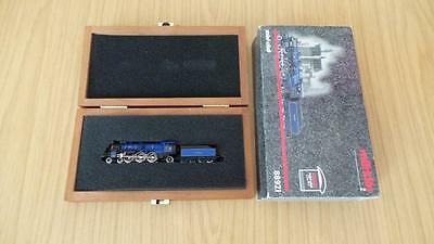 K15: Marklin 'Z' Gauge 86921 King Lodwin Royal Bavarian Blue Steam Loco(Exc)