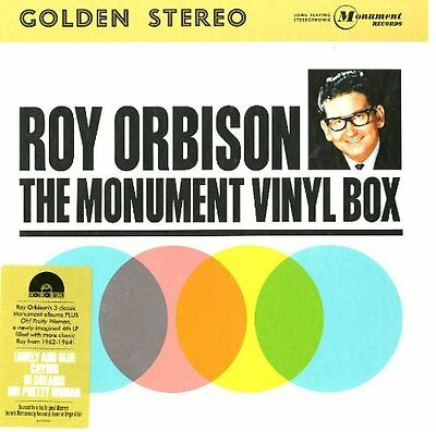 Roy Orbison The Monument Lp Vinyl Box Lp Vinyl 33Rpm New