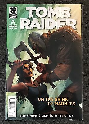 Tomb Raider #6 On The Brink of Madness 2014 Dark Horse Comic New