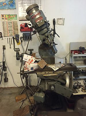 "Bridgeport Milling Machine 32"" Table"