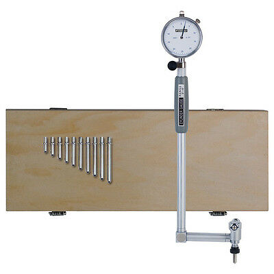 """Fowler 52-646-250 Right Angle Dial Bore Gage, 2-6"""" Measuring Range, 0.0005"""""""