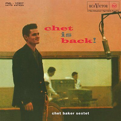 Chet Baker Chet Is Back! Lp Vinyl 33Rpm New