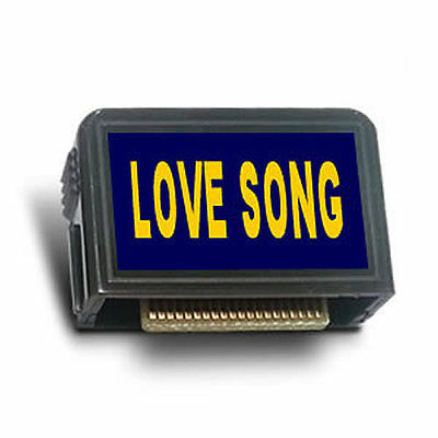 """MAGIC SING """"LOVE SONG"""" Song Chip - 428 Songs, SONG LIST, Compatible to Any Model"""