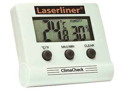 Laserliner ClimaCheck Digital Humidity and Temperature Thermometer