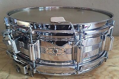 "Vintage 1960's Rogers Dynasonic 5x14"" COB Snare Drum"