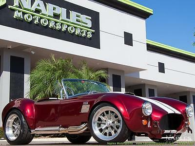 1965 Replica/Kit Makes  2016 Replica BackDraft Racing Shelby 427 5 Spd Manual, Chrome Package