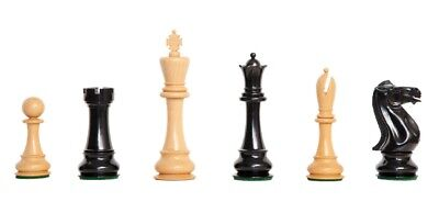 "The St. Petersburg 1895 Luxury Chess Set - Pieces Only - 6.0"" King - Genuine Ebo"