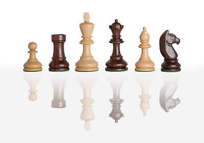 """The Modern Chess Set - Pieces Only - 3.75"""" King - Indian Rosewood"""