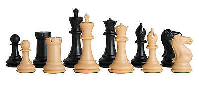 """The Fischer Plastic Chess Set - Pieces Only - 3.75"""" King"""