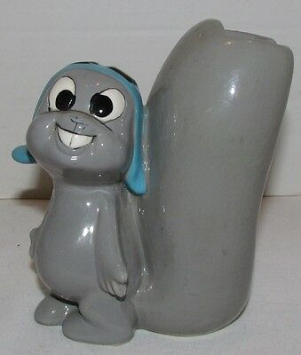 1960 Rocky and Bullwinkle: Rocky Brush Holder Ceramic Figure