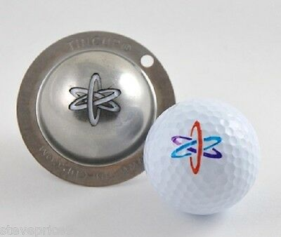 Tin Cup. Golf Ball Marker System. Nuke It. Nuclear.