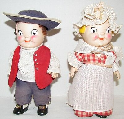 1970's Campbell Kids Colonial Dolls, mailaway premium