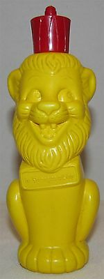 1960's Cocoa Marsh Chocolate Syrup Figural Container, Cocoa Marsh Lion