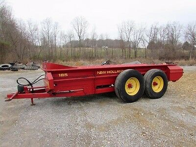 New Holland 185 Manure Spreader Tandem Axle