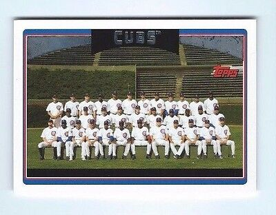 2006 TOPPS chicago cubs team card #607