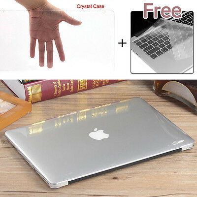 "Glossy Crystal Hard Case Keyboard Cover Macbook Pro 13"" with/out Touch Bar 2016"