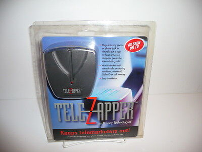 TeleZapper TZ800  Privacy Keeps Telemarketers Out! By Privacy Technologies New