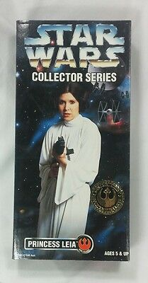 """Star Wars Collector Series Princess Leia 12"""" inch figure doll Carrie Fisher 1996"""