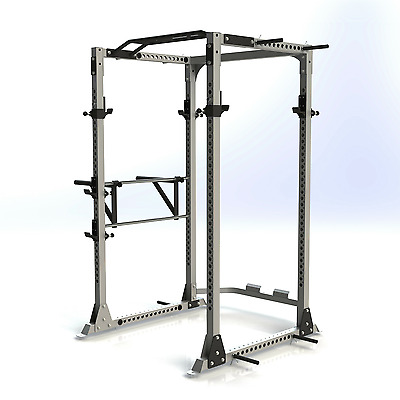 Brand New Force Usa Power Rack With Band Attachments And Multi Grip Chin Up Bar