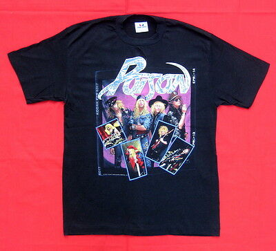 Poison 1989 tour t-shirt sold on tour LARGE SIZE  OPEN UP AND SAY AHHH