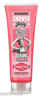 Soap and Glory Clean on Me SHOWER JELLY Body Wash Cleanser Gel 250ml