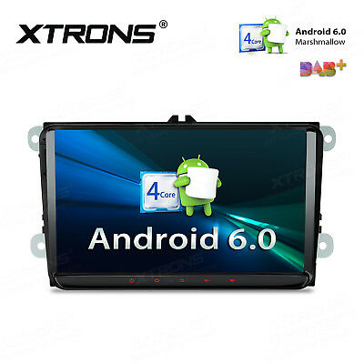 """XTRONS 2 DIN 9"""" Android 5.1 Car Radio Stereo GPS DAB+ VW Golf 5 Caddy Jetta/Seat"""